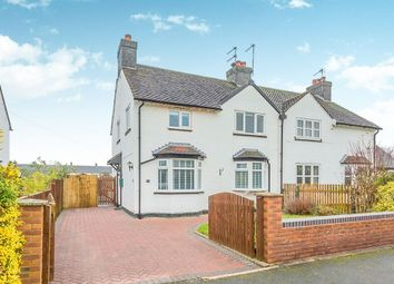 Thumbnail 3 bed semi-detached house to rent in Byley Lane, Cranage, Crewe