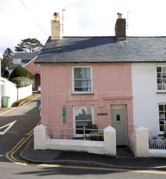 Thumbnail 2 bed end terrace house for sale in Copperhill St, Aberdovey, Gwynedd