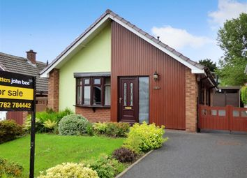 Thumbnail 2 bedroom detached bungalow for sale in Swan Close, Talke, Stoke-On-Trent