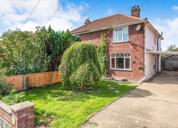 Thumbnail 4 bed semi-detached house for sale in Cozens Hardy Road, Sprowston, Norwich