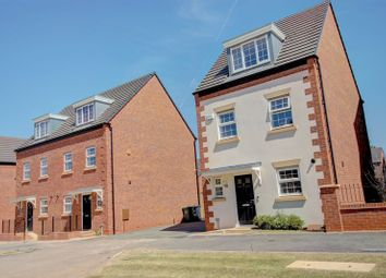 Thumbnail 3 bed detached house for sale in Peabody Way, Heathcote Park, Warwick.
