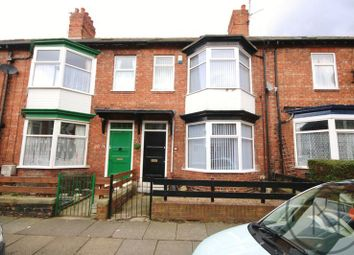 Thumbnail 4 bed terraced house to rent in Leafield Road, Darlington