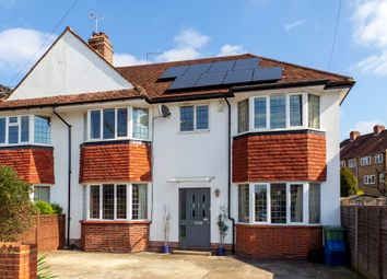 Thumbnail 5 bedroom semi-detached house for sale in Dukes Avenue, Ham/North Kingston