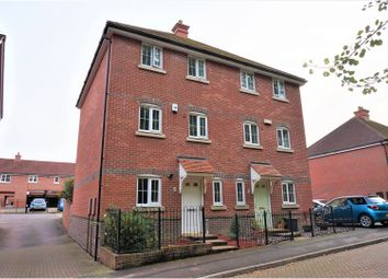 Thumbnail 4 bedroom semi-detached house for sale in Cowslad Drive, Chineham, Basingstoke