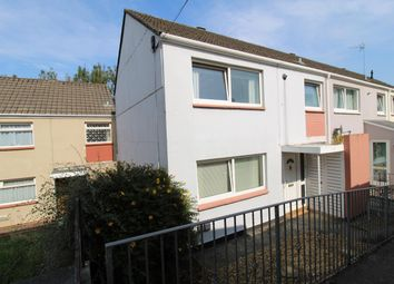 Thumbnail 3 bed end terrace house for sale in Ribble Gardens, Plymouth