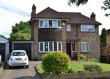 Thumbnail 4 bed detached house for sale in Hawthorn Road, Wallington, Surrey