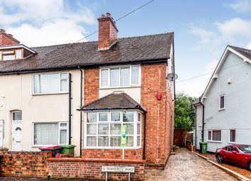 Thumbnail 3 bed end terrace house for sale in Tamworth Road, Kingsbury, Tamworth
