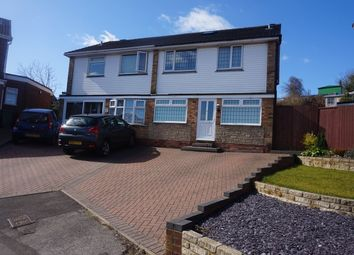 Thumbnail 4 bed semi-detached house for sale in Charlesdale Drive, Walsall
