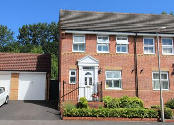 Thumbnail 2 bed semi-detached house for sale in Huntingdon Gardens, Newbury, West Berkshire