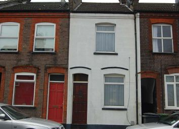 Thumbnail 2 bed terraced house to rent in Baker Street, South Luton, Luton