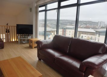 Thumbnail 3 bedroom flat to rent in St Christophers Court, Maritime Quarter, Swansea