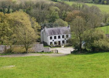 Thumbnail 5 bed farmhouse for sale in Blaenycoed Road, Carmarthen