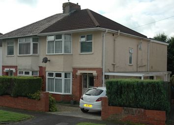 Thumbnail 3 bed semi-detached house for sale in Mount Earl, Bridgend