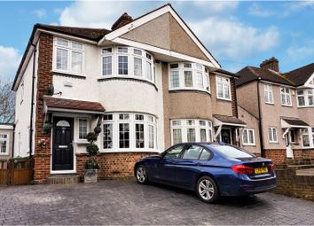 Thumbnail 3 bed semi-detached house for sale in Hurst Road, Bexley