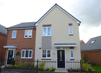 Thumbnail 3 bed semi-detached house for sale in Edison Place, Technology Drive, Rugby