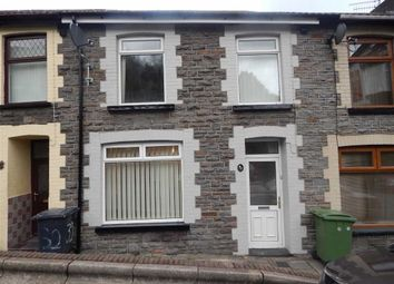 Thumbnail 3 bed terraced house to rent in Bassett Street, Abercynon, Rhondda Cynontaff