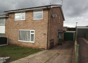 Thumbnail 3 bed semi-detached house to rent in Firbeck Gardens, Stafford