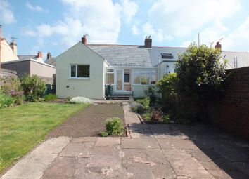 Thumbnail 3 bed semi-detached bungalow for sale in Honeyboro, Edward Street, Milford Haven, Pembrokeshire