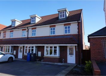 Thumbnail 3 bed town house for sale in Camberwell Drive, Warrington