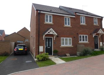 Thumbnail 3 bed semi-detached house for sale in Kilbride Way, Alwalton, Peterborough