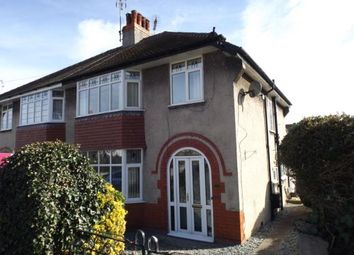 Thumbnail 3 bed semi-detached house for sale in Nant Y Glyn Road, Colwyn Bay, Conwy