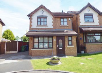 Thumbnail 3 bed detached house for sale in Dalewood Close, Warrington