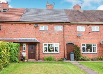 Thumbnail 3 bed town house for sale in Hall Drive, Weston Coyney, Stoke-On-Trent