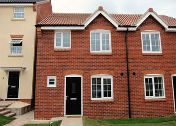 Thumbnail 3 bed semi-detached house to rent in Braunton Crescent, Limetree Gardens, Nottingham
