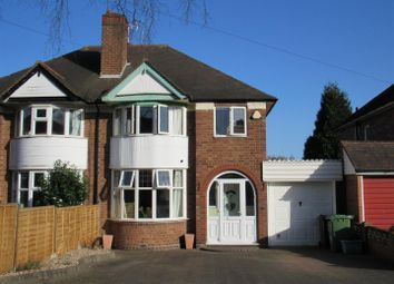 Thumbnail 3 bed property for sale in Butler Road, Solihull