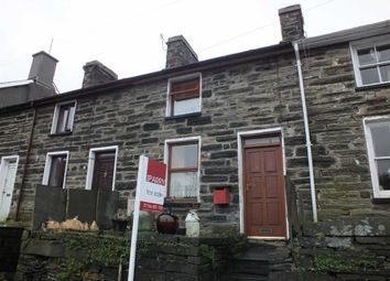 Thumbnail 1 bed terraced house for sale in Station Road, Ffestiniog, Blaenau Ffestiniog