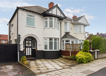 Thumbnail 3 bed semi-detached house for sale in Moorfield Road, Crosby