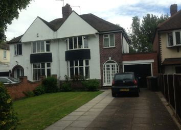 Thumbnail 3 bed semi-detached house to rent in Sutton Road, Walsall