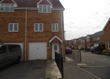 Thumbnail 3 bed terraced house to rent in Walstow Crescent, Armthorpe, Doncaster