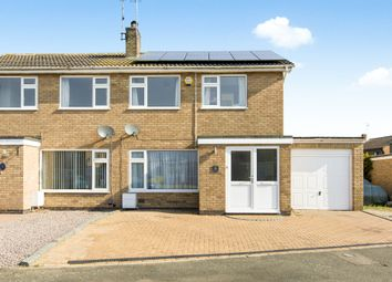 Thumbnail 3 bed semi-detached house for sale in Mill Road, Stilton, Peterborough
