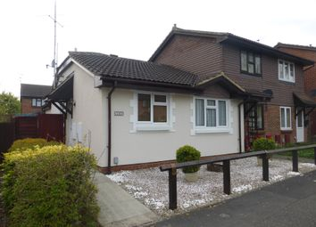 Thumbnail 2 bed semi-detached bungalow for sale in Fleetham Gardens, Lower Earley, Reading