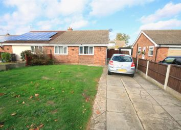 Thumbnail 3 bed semi-detached bungalow for sale in Tranmoor Lane, Armthorpe, Doncaster