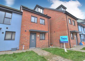 4 bed terraced house for sale in Ffordd Y Mileniwm, Barry CF62