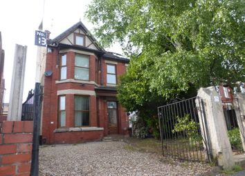 Thumbnail 4 bed flat for sale in Serpentine Road, Wallasey