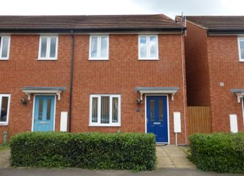 Thumbnail 2 bed end terrace house for sale in Woodward Drive, Gunthorpe, Peterborough