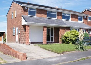 Thumbnail 3 bed semi-detached house for sale in Ferndown Road, Harwood, Bolton