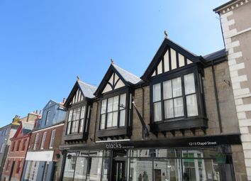 Thumbnail 2 bed flat to rent in Chapel Street, Penzance