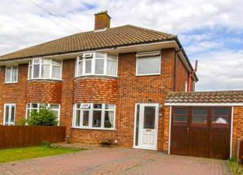 Thumbnail 3 bed semi-detached house for sale in Preston Drive, Ipswich