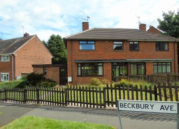 Thumbnail 3 bed semi-detached house for sale in Beckbury Avenue, Penn, Wolverhampton