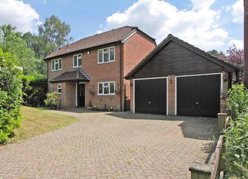Thumbnail 4 bed detached house for sale in The Greenaways, Oakley, Basingstoke