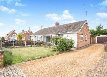 Thumbnail 3 bed semi-detached bungalow for sale in Spenser Road, King's Lynn
