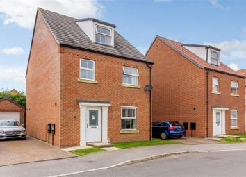 Thumbnail 4 bedroom detached house for sale in Bobbin Lane, Lincoln