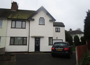 Thumbnail 4 bed semi-detached house for sale in Large Avenue, Darlaston, Wednesbury