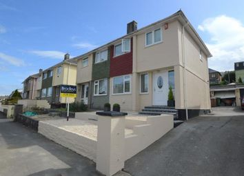 Thumbnail 3 bed semi-detached house for sale in Dudley Road, Plymouth, Devon