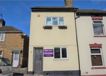 Thumbnail 3 bed end terrace house for sale in Longley Road, Rochester