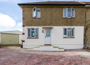 Thumbnail 3 bedroom semi-detached house for sale in West Heath Close, Crayford